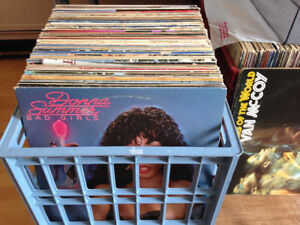 Funk and Disco LPs