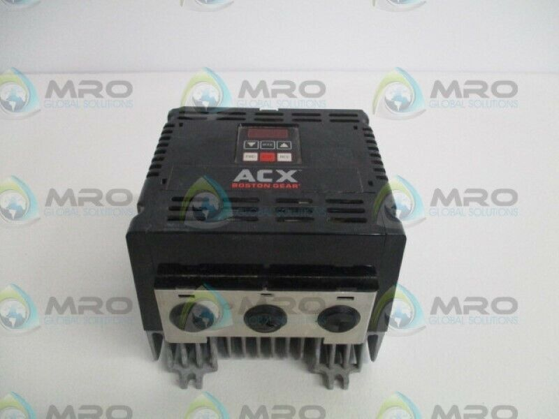 BOSTON GEAR ACX4030 AC MOTOR CONTROLLER (AS PICTURED) * USED *