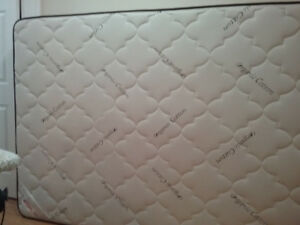 Queen size organic foam  mattress
