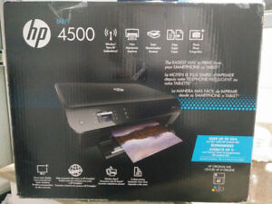 HP Envy 4500 Wireless ALL-IN-ONE Colour Photo Printer - New!