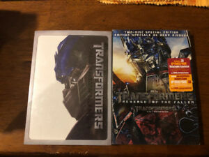 Transformers and Transformers Rise of The Fallen DVD