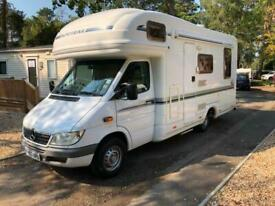 MERCEDES AUTO-TRAIL // CHEYENNE SE // AUTO ONLY 52000 MILES