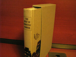 THE BEST OF DOROTHY PARKER FOLIO SOCIETY EDITION [Hardcover]