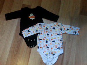 Cache-couche d'halloween taille 3-6 mois