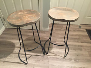 Like new reclaimed stools