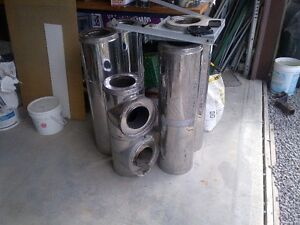 Chimney pipe stainless steel Meets building code Kawartha Lakes Peterborough Area image 1
