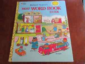Richard Scarry's - Best Word Book Ever  Great for kids