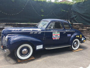 1940 Pontiac Business Coupe **own a GREAT AMERICAN RACE CAR**