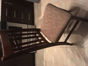4 chaises/chairs