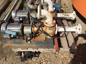 """5 - 3"""" pumps with electric motors for sale"""