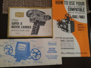Reduced - Super 8mm items