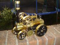 Wanted: Steam Engines, Toy Steam, Model Steam, Live Steam, Mamod, Wilesco, Cheddar, Garden Railway