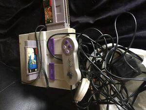 Old school Super Nintendo