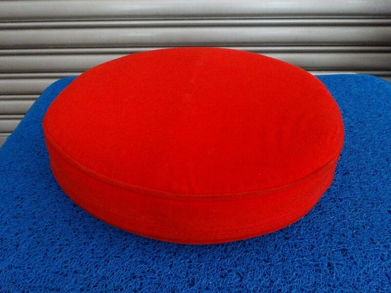 Red Round Cushion (Back support/Prayer)