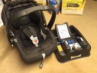 Mamas and papas car seat and adjustable base