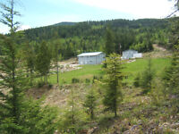 New 3000sqft Home on 18+ acres just minutes outside Creston BC
