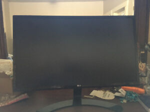 2016 LG computer monitor 24inch good condition.