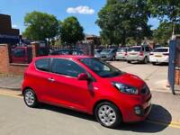 2013 '63' Kia Picanto 1.0 (68bhp) City - ONE LADY OWNER!