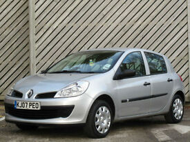 2007 RENAULT CLIO 1.4 Expression 5DR HATCH - EXCELLENT VALUE !!