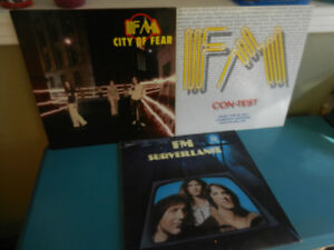 Vinyl Records/LP's FM Classic Rock Nash The Slash Lot of 3