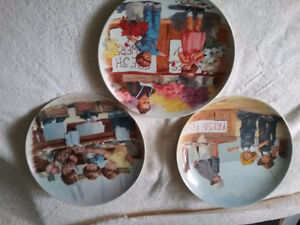 Limited edition fine china plates