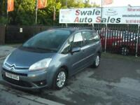 2008 08 CITROEN C4 PICASSO 1.6 GRAND VTR PLUS HDI 7 SEATS EXCELLENT CONDITION DI