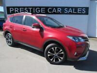 2014 Toyota Rav-4 2.2 D-CAT Invincible AWD 5dr Diesel red Automatic
