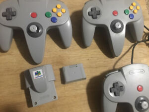 Nintendo 64 System, Games and Controllers