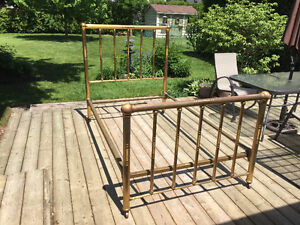 Antique Brass Bed c1870 Stratford Kitchener Area image 5