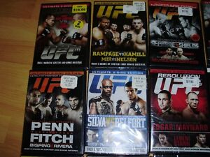 """15 UFC dvds ***BRAND NEW*** trade for 17"""" Rims and Tires London Ontario image 8"""