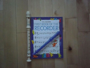 RECORDER WITH BOOK