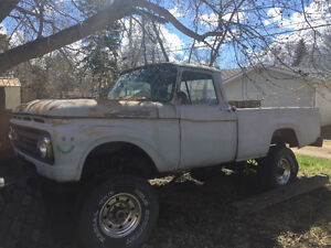1962 Mercury 3/4 ton pick up 2500.00 or trade for sled or seadoo