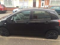 FOR SALE! TOYOTA YARIS 2007 1.0 LITRE BLACK