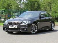 2014 64 BMW 5 SERIES 3.0 535D M SPORT 4D AUTO 309 BHP DIESEL