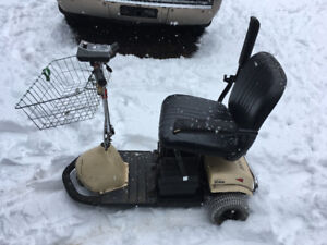 Three Wheeled Mobility Scooter