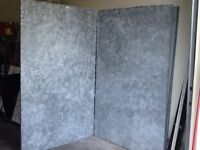 Display walls for art, craft shows, studios,  booths