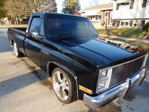 1986 GMC C/K 1500 Seirra Black Beauty
