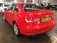 63 Audi A3 Saloon 1.4 TFSI ACT Sport S Tronic 140 Cruise NAV Xenons PX Welcome