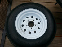 ST175/80D13 Trailer Tire and Rim