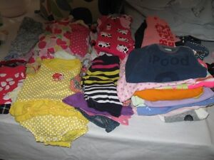 Baby clothes 0 to 12 months (girl)