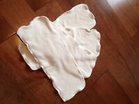 Bamboo inserts for cloth diapers