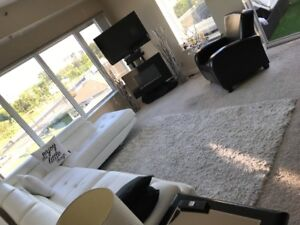 upscale 2 bedrm condo south Pembina available jan15 to march 19
