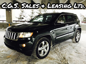 2011 Jeep Grand Cherokee Limited, fully loaded! Nav & Pano Roof!