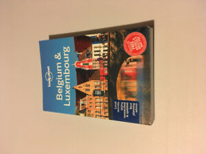 Belgium & Luxembourg Travel Book