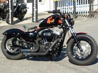 HARLEY-DAVIDSON XL1200X FORTY EIGHT 2013 ONLY 5600 MILES