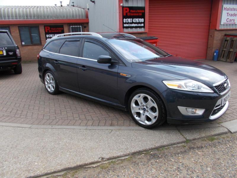 FORD MONDEO 2.2TDCi TITANIUM X SPORT ESTATE 09/09 FSH VERY RARE CAR ...