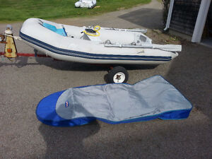Zodiac Inflatable & Nissan 9.8HP for sale