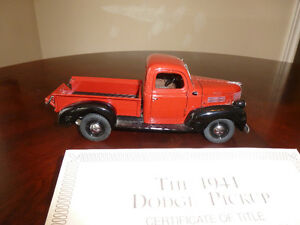 Danbury Mint used diecast car/truck