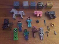 Minecraft figures 42 pieces in total magherafelt