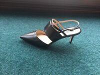 Whistles black heels - brand new